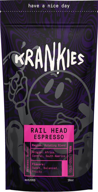 Krankies Coffee - Rail Head Espresso
